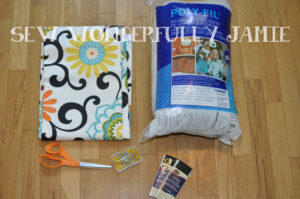 Floor Pillows Joannes : Jo-Ann Fabrics Waverize It! Challenge- Floor Cushion/Pillows Sew Wonderfully Jamie