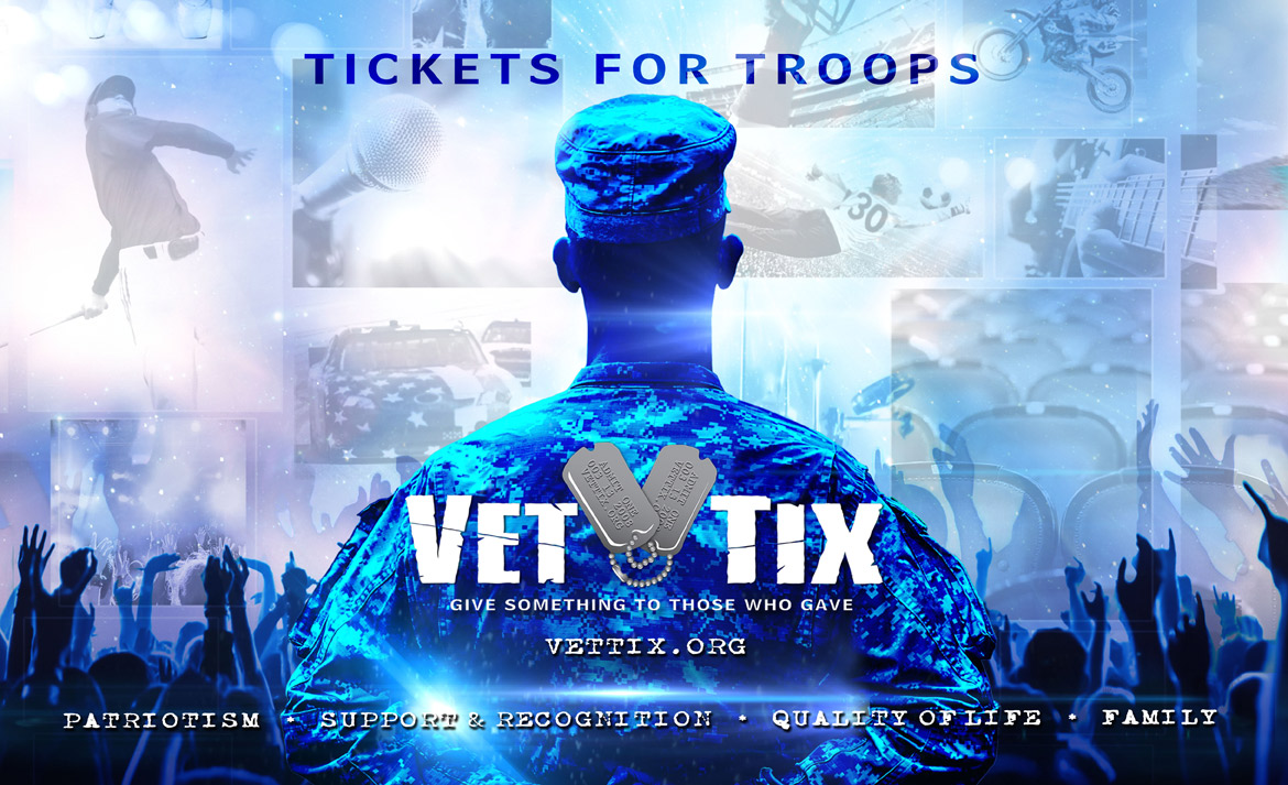 Vet Tix Tickets For Troops Sew Wonderfully Jamie
