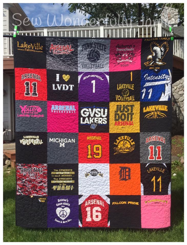T-shirt Quilt memory quilt,